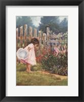 Framed Grandmother's Garden