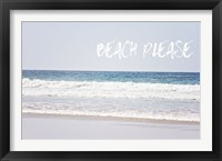 Framed Beach Please
