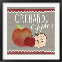 Framed Orchard Apples