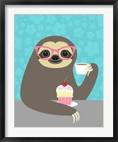 Framed Diva Sloth