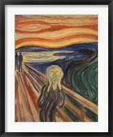 Framed Scream