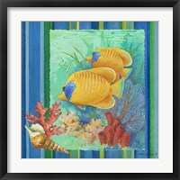 Framed Tropical Fish II