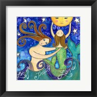 Framed Big Diva Mermaid Mother's Love