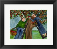 Framed Love Under The Apple Tree Big Diva