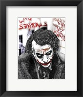 Framed Joker