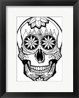 Framed Skull 4