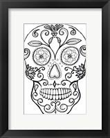 Framed Skull 7