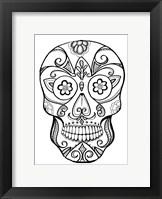 Framed Skull 8