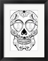 Framed Skull 13