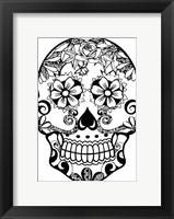 Framed Sugar Skull 3