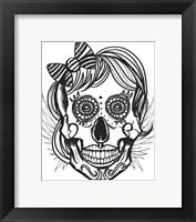 Framed Skull 15