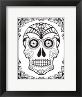 Framed Skull 16