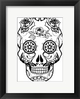 Framed Skull 22