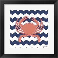 Framed Crab Chevron
