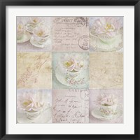 Framed Vintage Tea