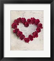 Framed Roseheart