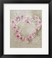 Framed Roseheart Pink