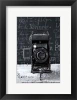 Framed Vintage Camera I