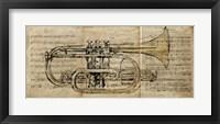Framed Trumpet 2