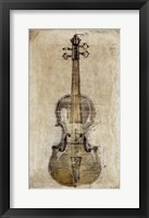 Framed Violin 3
