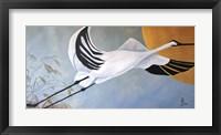 Framed JP Stork