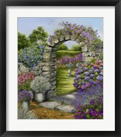 Framed Cottage Garden