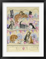 Framed Kittens On Dresser