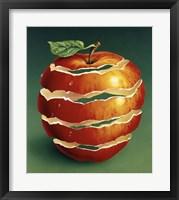 Framed Red Apple