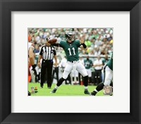 Framed Carson Wentz First Career Touchdown Pass- Spetemeber 11, 2016