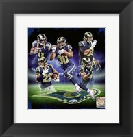 Framed Los Angeles Rams 2016 Team Composite