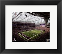 Framed U.S. Bank Stadium 2016