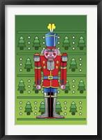 Framed Pop Art Nutcracker