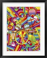 Framed Pop Art Drums