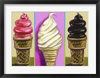 Framed Pop Cones