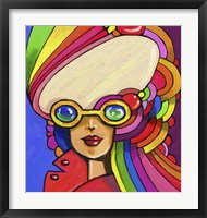 Framed Pop Sunglasses Lady