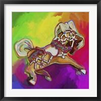 Framed Carousal Pony