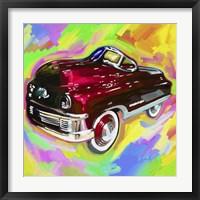 Framed Pop Art Kiddie Car