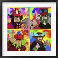 Framed Beatles Sgt Peppers Yellow Sub