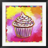 Framed Cosmic Cupcake