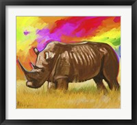 Framed Rhino 2