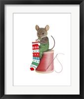 Framed Mouse On Spool