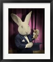 Framed Rabbit Magician