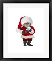 Framed Santa Mouse