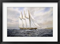 "Framed Schooner  ""Atlantic"""