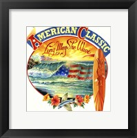Framed American Classic