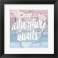 Framed World Traveler Adventure Awaits
