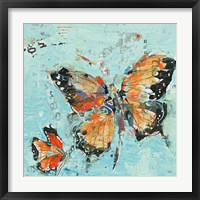 Framed Monarch II Light Blue