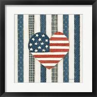 Framed Americana Quilt VI