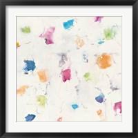 Framed Glitterati I