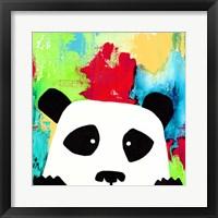 Framed Primary Panda